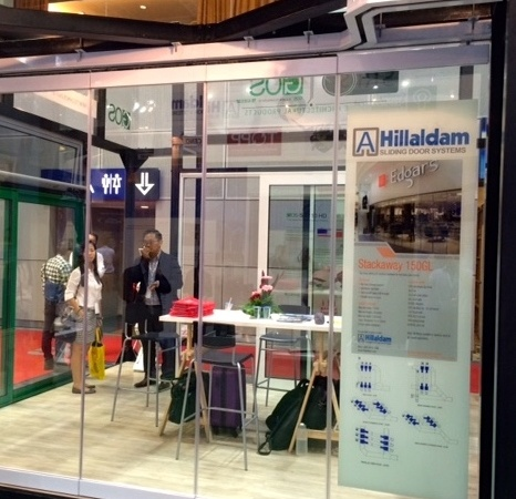 Hillaldam Showcases Stackaway 150GL at Archidex 2015